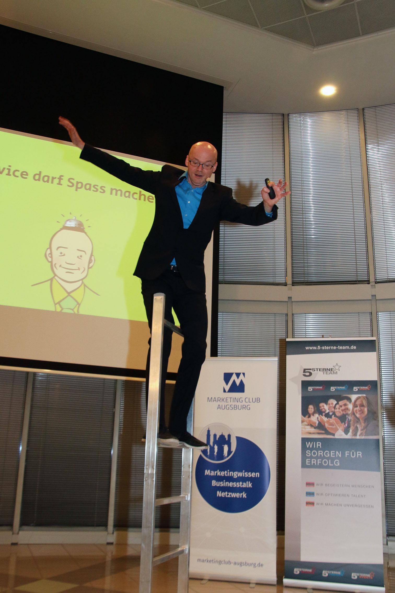 Comedy-Redner Armin Nagel beim Marketing Club Augsburg ☆ 5 Sterne ...
